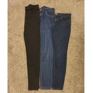 Forever 21 Denim Skinny Jeans Bundle